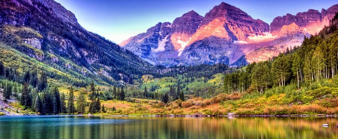 colorado-maroon-bells-lake-sunrise